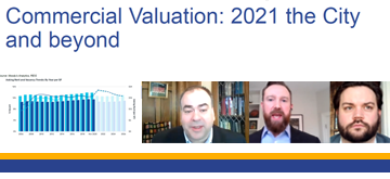 Cook County Assessor leadership presented about commercial valuation.